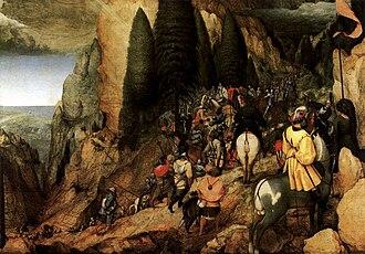 Conversion of Paul (Bruegel) - Image: Pieter Bruegel the Elder The Conversion of Paul WGA3329