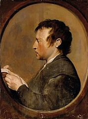 Portret czytającego mężczyzny
