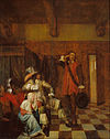 Pieter de Hooch - Bringer of Bad News - Google Art Project.jpg