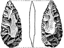 Pieza foliacea bifacial-2