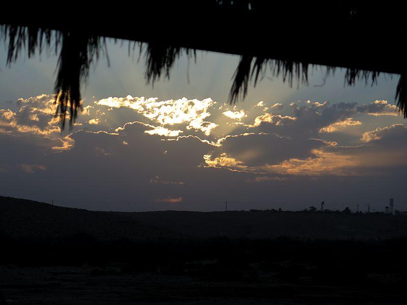 זריחה במדבר