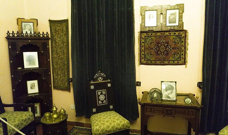 מראה חדר בבית אהרוסון