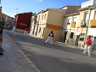 Valencian pilota - Llargues game at Sant Joan d'Alacant