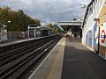 Pinner station look west.JPG