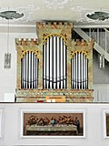 Pittersberg, St. Nikolaus, Orgel Friedrich Specht.JPG