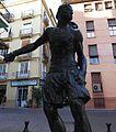 Plaça de Nàpols i Sicília, El treure, obra d'Ignasi Pinazo, València.JPG