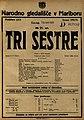 Plakat za predstavo Tri sestre v Narodnem gledališču v Mariboru 30. aprila 1925.jpg