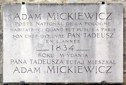 Adam Mickiewicz Wikiwand