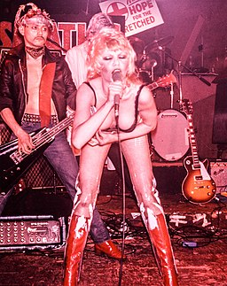 Wendy O. Williams American singer and actress