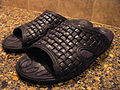 Plastic imitation rattan bath flip-flops.JPG