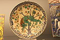 Plat au qilin dans un arbre - 1550 - 1600 - Caucase (?) - Musée national de céramique - Sèvres - Inventory number 22693.JPG