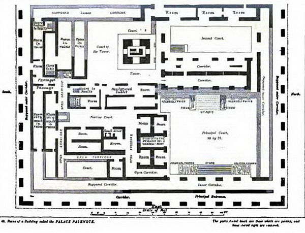 Plate44-Plans of a Building--Plalace Palenque..jpg