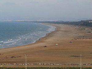 Ras Kebdana - Panorama of Ras Kebdana beach