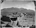 Plaza at Taos, New Mexico - NARA - 523742.tif