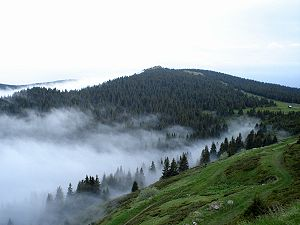 Ala (demon) - The locals of the Kopaonik mountain (depicted) believed that the local ala defended the crops from outsider ale.