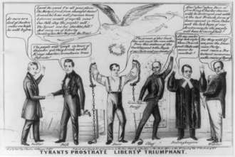 Dorr Rebellion - A polemic applauding Democratic support of the Dorrite cause in Rhode Island, 1844