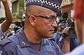 Police commander being interviewed by journalists, Movimento Passe Livre São Paulo 2015.jpg
