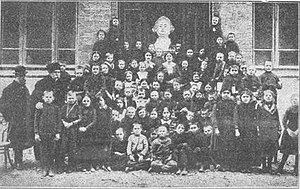 Poles in Azerbaijan - Image: Polish school in Baku, 1903