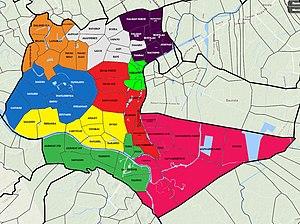 Bayambang, Pangasinan - Political divisions of Bayambang