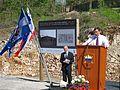 Položitev temeljnega kamna ob začetku celovite ureditve kompleksa Parka vojaške zgodovine v Pivki 16.jpg
