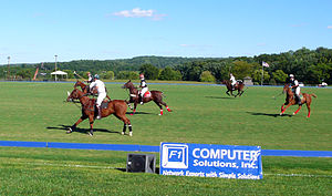 The Plains, Virginia - Polo match at Great Meadow in 2007