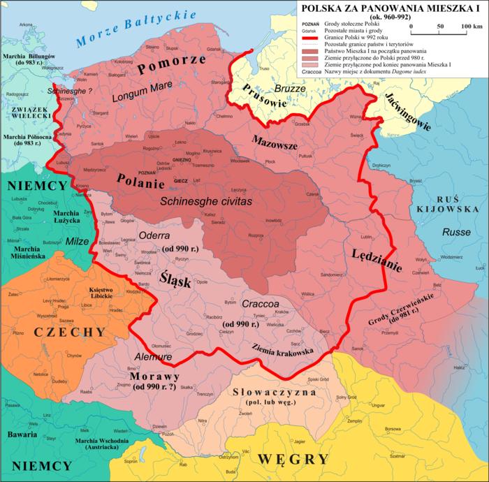 Polska 960 - 992