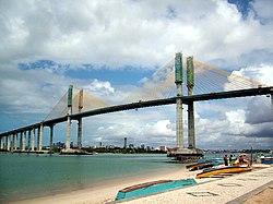Ponte Newton NavarroPonte Forte-Redinha