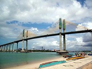 Newton Navarro Bridge - Image: Ponte Newton Navarro