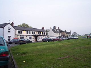 Poolbrook village in United Kingdom