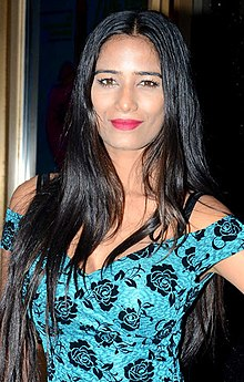 Poonam Pandey giving a pose