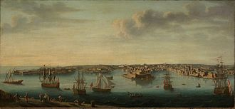 Grand Harbour - The Grand Harbour in 1750