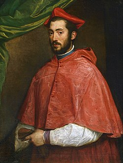 Portrait of Cardinal Alessandro Farnese (by Titian).jpg