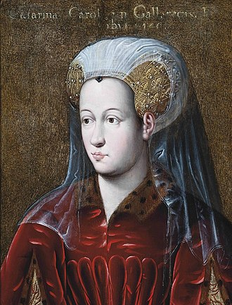 Catherine of France, Countess of Charolais - Image: Portrait of Catherine of Valois, countess of Charolais