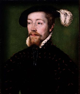 Scotland in the early modern period - Portrait of James V, c. 1536, by Corneille de Lyon