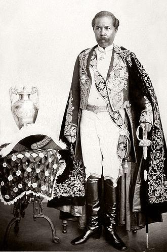 Rainilaiarivony - Image: Portrait of Prime Minister Rainilaiarivony of Madagascar