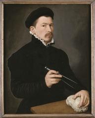 Portrait of a sculptor, possibly Johan Gregor van der Schardt