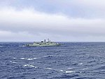 Portugese frigate NRP Corte Real (F332) underway in the Atlantic Ocean on 27 May 2019 (190527-N-QR145-044).jpg