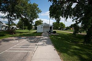 Mantador, North Dakota - Post office in Mantador