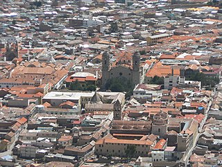 Potosí city in Bolivia