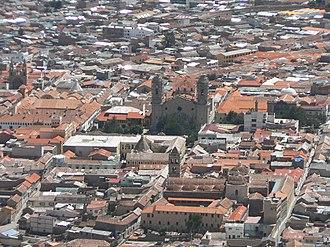 Potosí - View of Potosí
