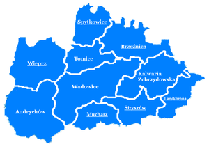 Wadowice County - Image: Powiat wadowice podpisy