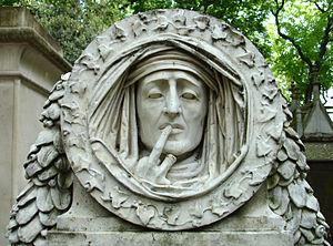 Antoine-Augustin Préault - Silence (1842), Père Lachaise Cemetery, Paris