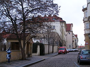Eliška Junková - The house where Eliška Junková lived
