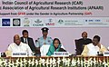 Pratibha Devisingh Patil at the valedictory function of the Global Conference on Women in Agriculture, in New Delhi. The Union Minister for Agriculture and Food Processing Industries.jpg