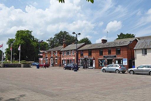 Premises facing the market square, Haverhill (geograph 5816701)