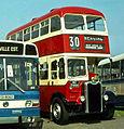 Preserved Belfast Corporation bus 346 (MZ 7444) 1951 Guy Arab III Harkness, 1980 Bangor bus rally.jpg