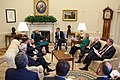President Obama and His Ranking-Cabinet Members Hold Bilateral Meeting With Afghan President Karzai (4643058021).jpg