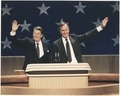 President Reagan and Vice-President Bush at the Republican National Convention, Dallas, TX - NARA - 198555.tif