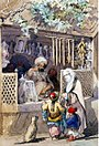 Preziosi - Turkish Figures at a Sweetmeat Stall 1851.jpg