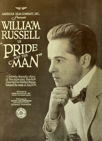 William Russell (American actor) - Pride and the Man (1917)